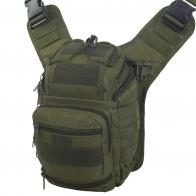 Тактическая сумка через плечо многоцелевая