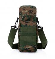 Тактическая сумка через плечо под термос или фляжку