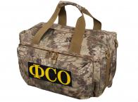 Тактическая сумка для походов с нашивкой ФСО