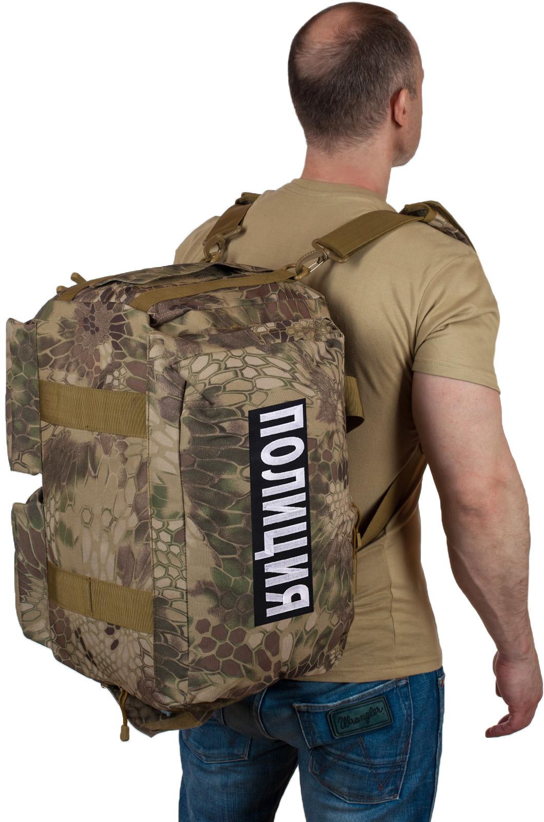 Купить тактическую сумку для походов с нашивкой Полиция оптом или в розницу