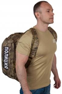 Тактическая сумка для походов с нашивкой Полиция