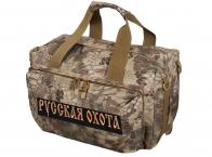 Тактическая сумка для походов с нашивкой Русская Охота - купить выгодно