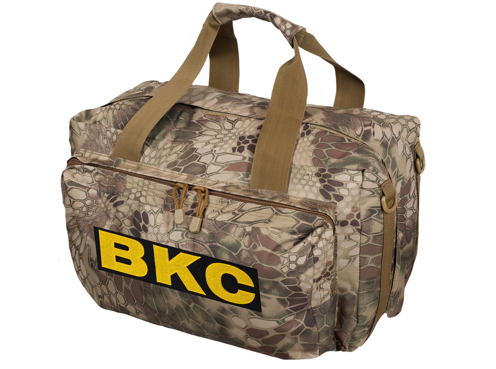 Тактическая сумка для походов с нашивкой ВКС