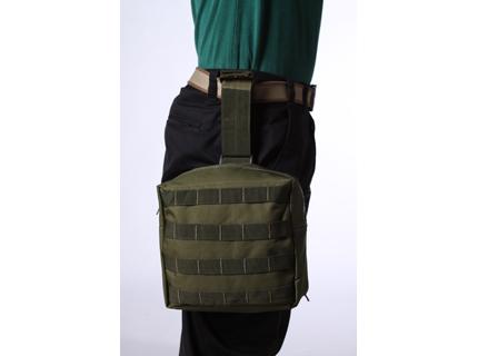 Тактическая сумка на бедро хаки-олива