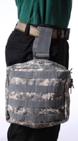 Тактическая сумка на бедро камуфляж ACU