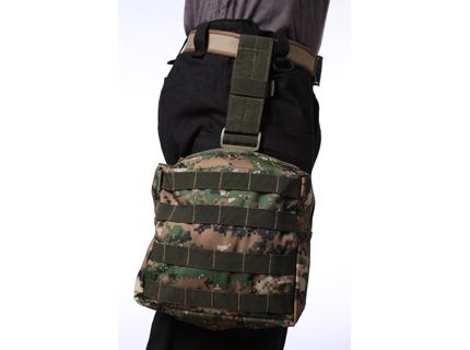 Тактическая сумка на бедро камуфляж Марпат