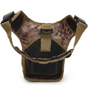 Тактическая сумка на плечо для камеры с элементами обвески MOLLE