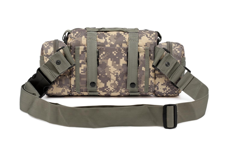 Тактическая сумка на плечо и пояс под камеру купить недорого
