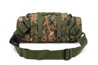 Тактическая сумка на пояс для камеры с наплечным ремнём