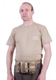 Тактическая сумка на пояс камуфляж Multikam