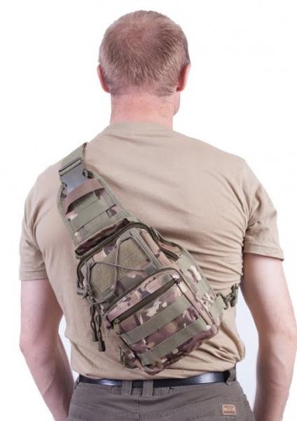 Тактическая сумка-рюкзак камуфляж Multicam