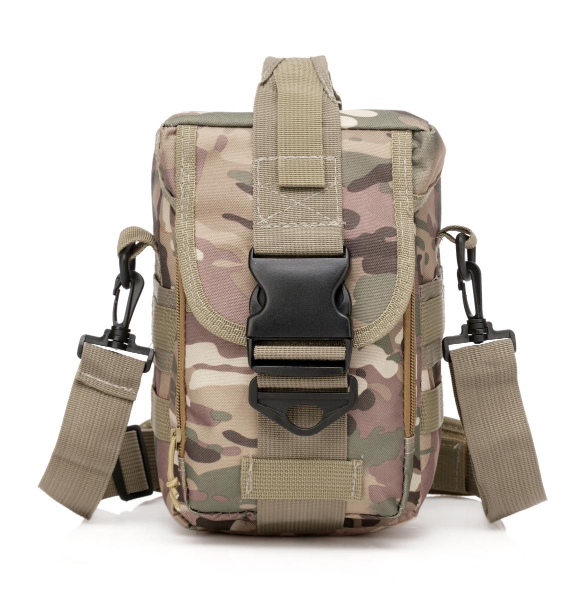 Тактическая сумка с широким ремнём через плечо купить недорого