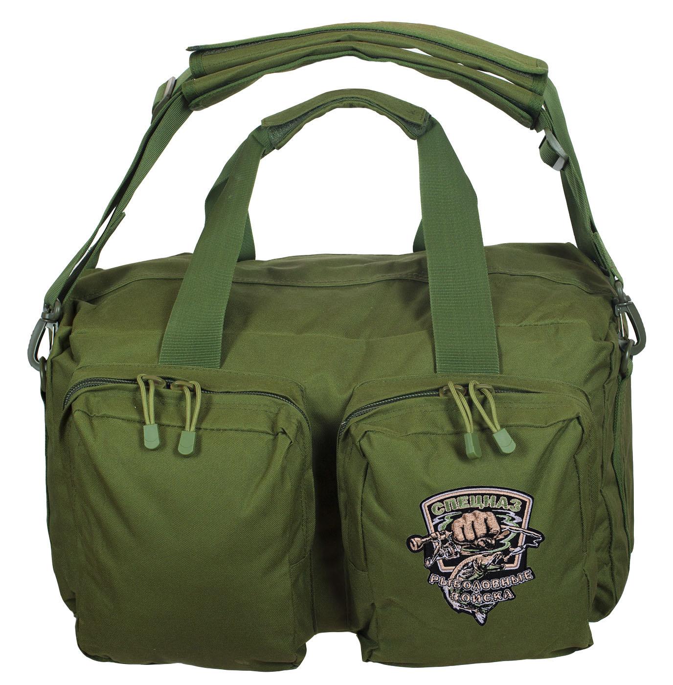 Тактическая сумка в камуфляже хаки
