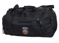 Тактическая вместительная сумка с нашивкой ДПС 08032B Black