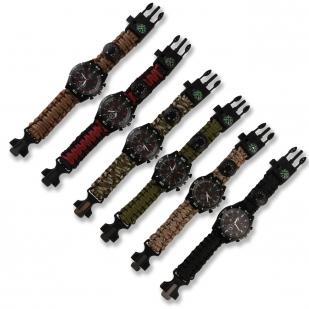 Тактические часы с компасом по выгодной цене