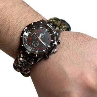 Тактические часы с набором выживания