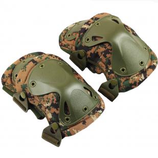 Купить тактические наколенники и налокотники камуфляж Марпат