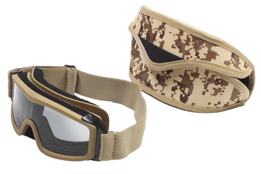 Тактические очки Гром хаки-песок