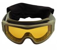 Тактические очки с желтыми линзами
