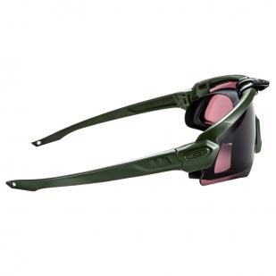 Тактические очки со сменными линзами Prizm Shooting Olive в наборе
