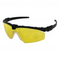 Тактические стрелковые очки с защитой UV 400 желтые