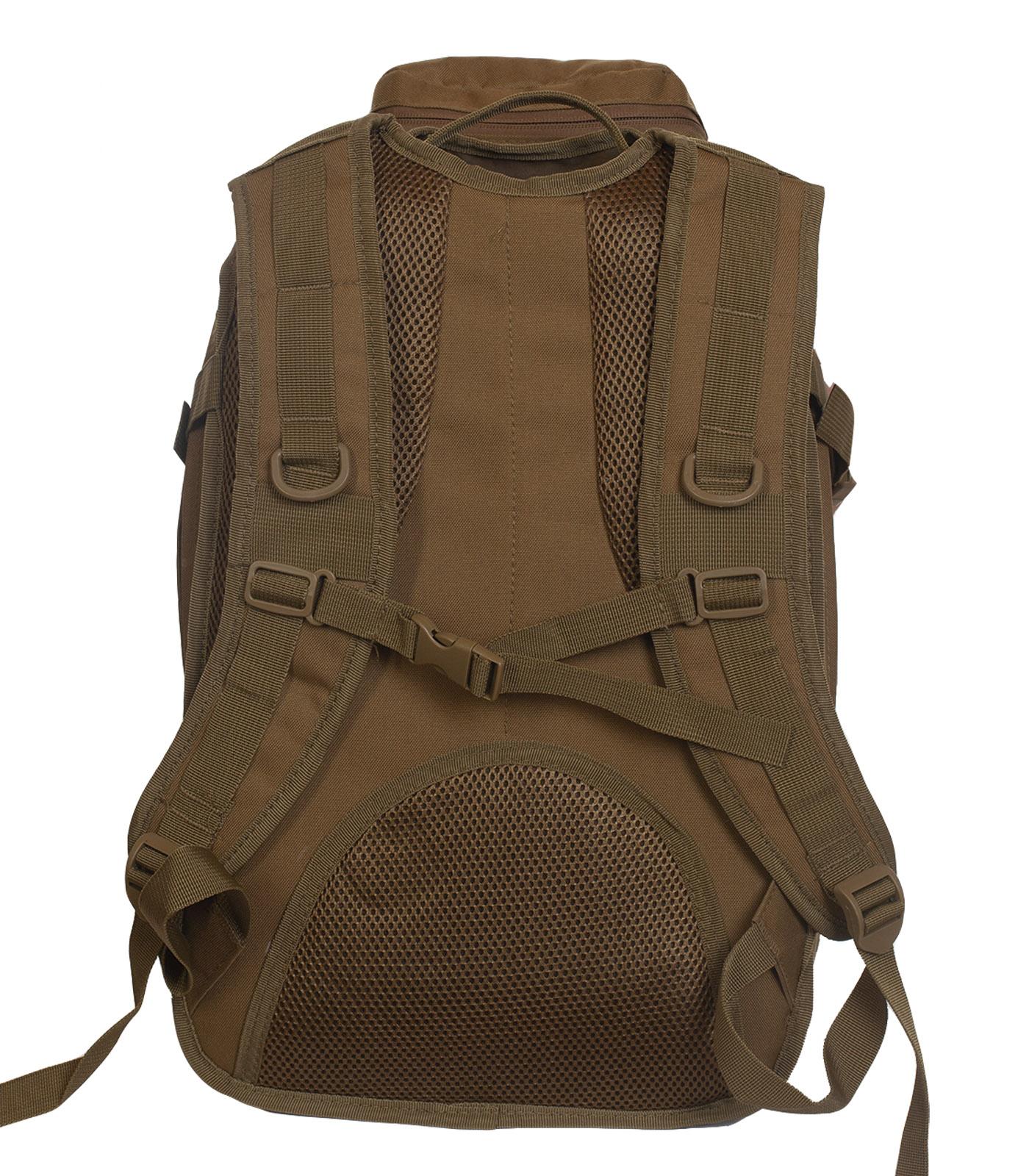 Тактический армейский рюкзак (хаки-песок) - оптом и в розницу