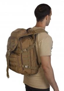 Тактический армейский рюкзак (хаки-песок) - заказать онлайн