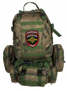 Тактический большой рюкзак-трансформер с нашивкой Полиция России - купить оптом