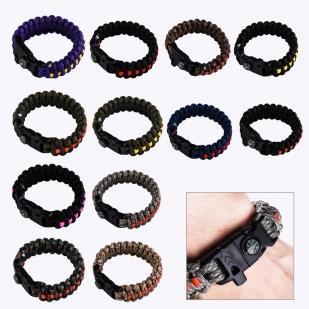 Тактические браслеты разных цветов