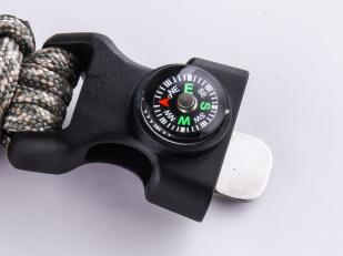 Тактический браслет с компасом