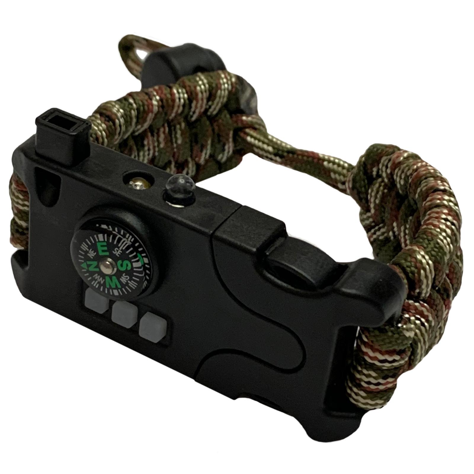 Купить к 23 февраля на подарок мужчине тактический паракордовый браслет