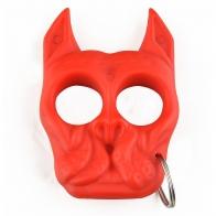 Тактический брелок Brutus Bull-Dog (красный)