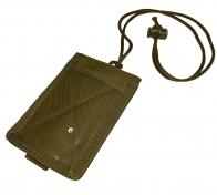 Тактический чехол для пропуска и документов (хаки-песок)