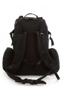 Тактический черный рюкзак с нашивкой Афган - заказать с доставкой
