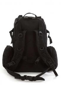 Тактический черный рюкзак с нашивкой Пограничная служба - купить в розницу