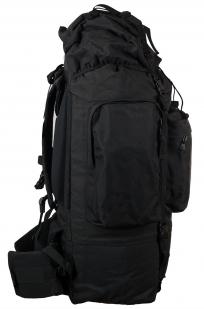 Заказать тактический черный рюкзак с шевроном РХБЗ