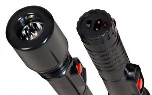 Тактический фонарик TW-305 с отпугивателем собак - действенное средство защиты