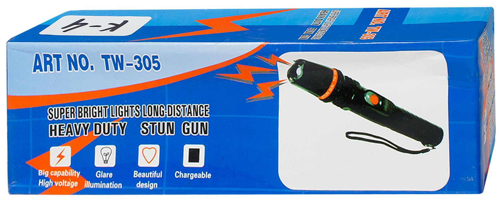 Тактический фонарик TW-305 с отпугивателем собак - с доставкой