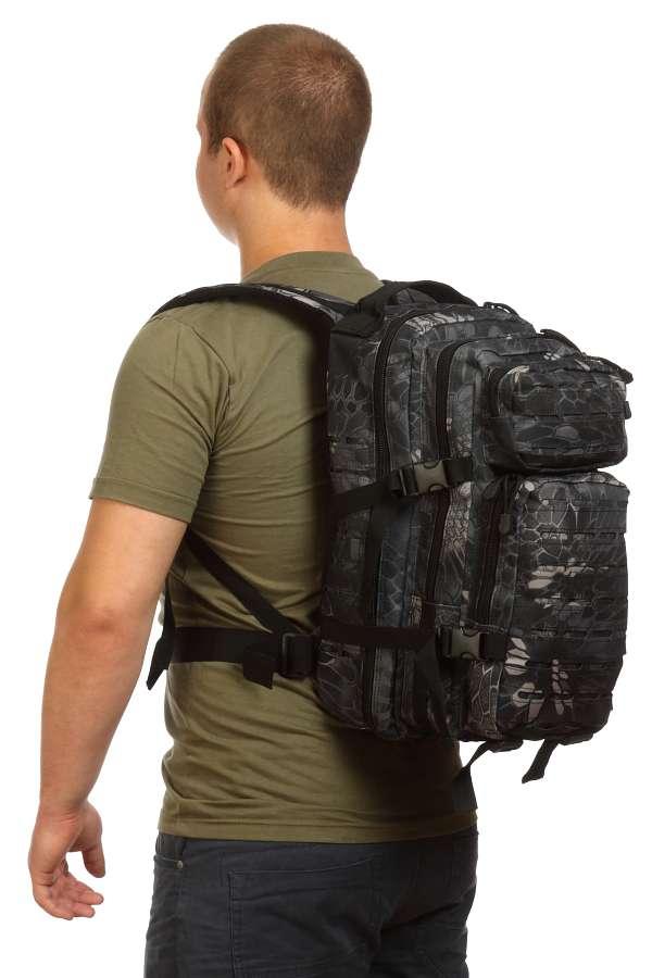 Тактический городской рюкзак Kryptek Black
