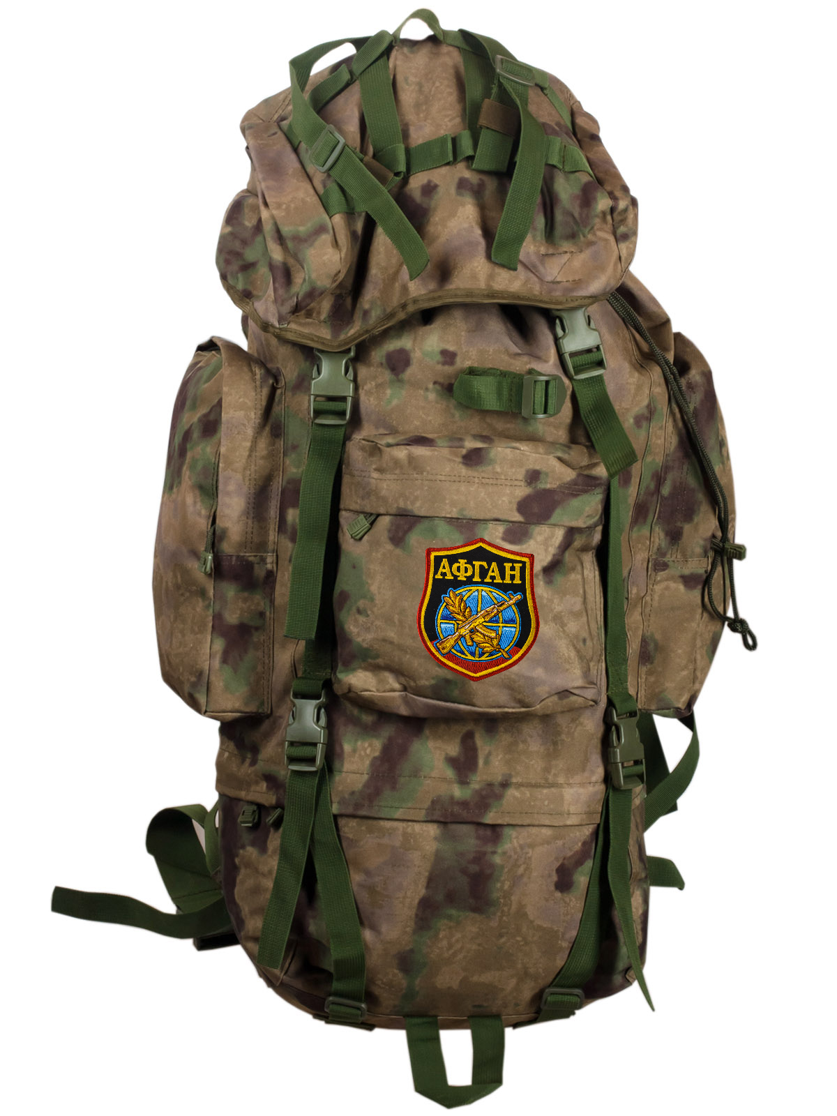 Тактический камуфляжный рюкзак с нашивкой Афган - заказать оптом