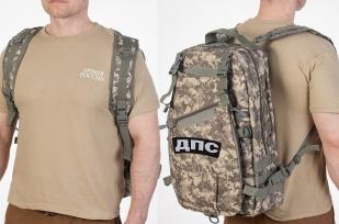 Тактический камуфляжный рюкзак с нашивкой ДПС - заказать с доставкой