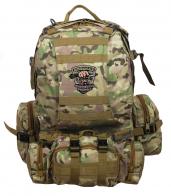 Тактический камуфляжный рюкзак с нашивкой Охотничьих войск