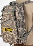 Тактический камуфляжный рюкзак с нашивкой ВМФ - заказать выгодно