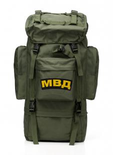 Тактический каркасный рюкзак с нашивкой МВД - заказать в розницу