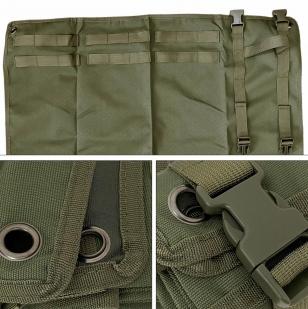 Тактический коврик MOLLE для стрельбы (Олива)