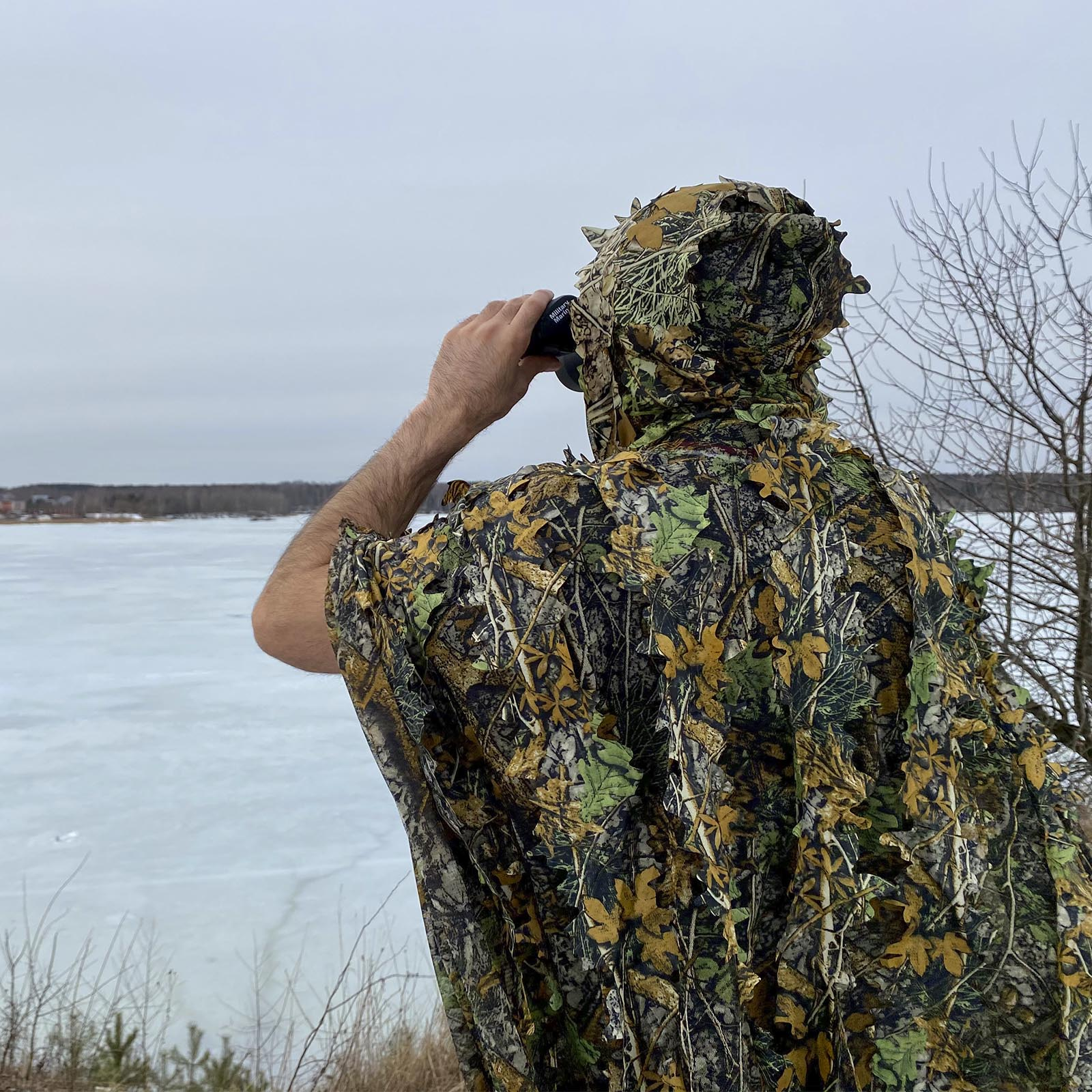 Тактический маскхалат для снайперов и охоты - высокое качество
