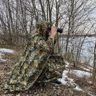 Тактический маскхалат для снайперов и охоты