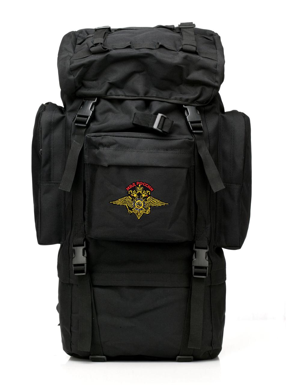 Тактический многодневный рюкзак с нашивкой МВД России