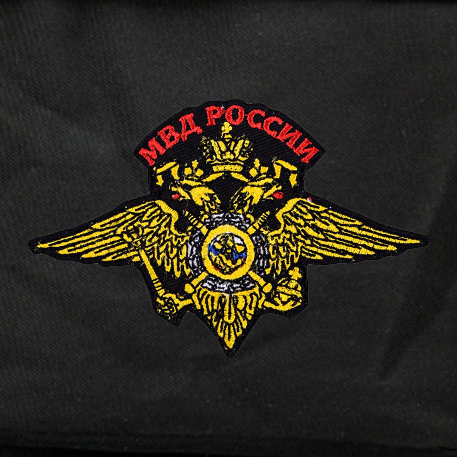 Тактический многодневный рюкзак с нашивкой МВД России купить в розницу