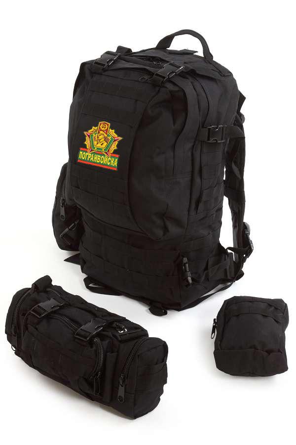 Тактический модульный рюкзак Assault с нашивкой Погранвойск - заказать выгодно